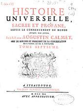 Histoire universelle ,sacrée et profane, depuis le commencement du monde jusqu'a nos jours: Volume7