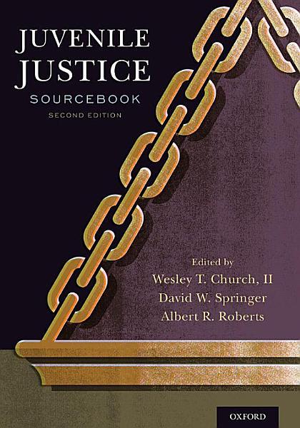 Download Juvenile Justice Sourcebook Book