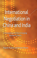 International Negotiation in China and India PDF