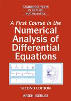 A First Course in the Numerical Analysis of Differential Equations PDF