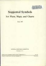 Suggested Symbols for Plans, Maps, and Charts