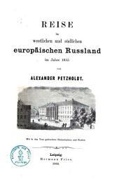 Reise im westlichen und südlichen europäischen Russland im Jahre 1855
