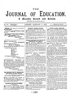 Journal of Education Book