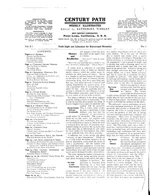 Century Path PDF