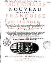 Dicionario nuevo de las lenguas española y francesa... Por Francisco Sobrino,...