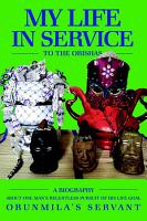 My Life In Service To The Orishas PDF