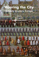Hearing the City in Early Modern Europe