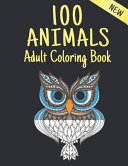 Adult Coloring Book New 100 Animals PDF