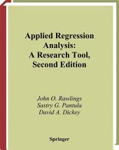 Applied Regression Analysis: A Research Tool, Edition 2