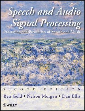 Speech and Audio Signal Processing PDF