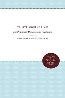 To Live Ancient Lives