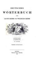 Deutsches W  rterbuch  Bd   I Abth   1 Th   1  10 Lief  T Treftig PDF