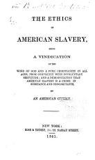 The Ethics of American Slavery PDF