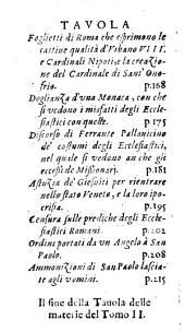 Il Divorzio Celeste, Cagionato dalle dissolutezze dalla Sposa Romana: Diviso in Tre Tomi. ¬Il processo de' Bastardi di quella. 2
