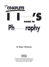 The Complete Idiot s Guide to Photography PDF