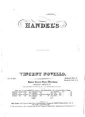 Handel's Serenata: Acis and Galatea