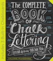 The Complete Book of Chalk Lettering PDF