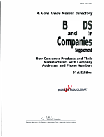Brands and Their Companies PDF