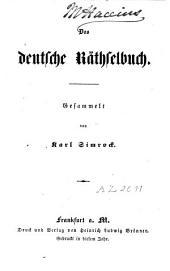 Das deutsche Raethselbuch