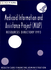 Medicaid Information and Assistance Project  MIAP  Resources Directory PDF