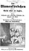Das Blumenk  rbchen oder  Ehrlich w  hrt am l  ngsten PDF