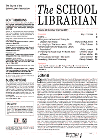 The School Librarian PDF