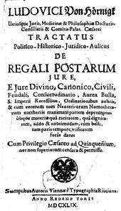Tractatus de regali Postarum iure
