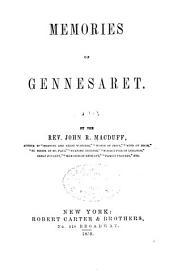 Memories of Gennesaret