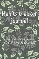 Habits Tracker Journal