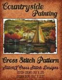 Countryside Painting Cross Stitch Pattern