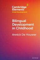 Bilingual Development in Childhood