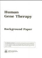Human Gene Therapy PDF