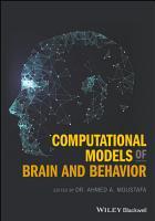 Computational Models of Brain and Behavior PDF