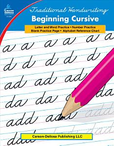 Traditional Handwriting  Beginning Cursive  Grades 1   3