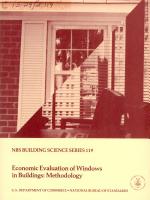 NBS Building Science Series PDF