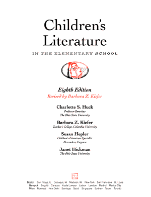 Children s Literature in the Elementary School PDF