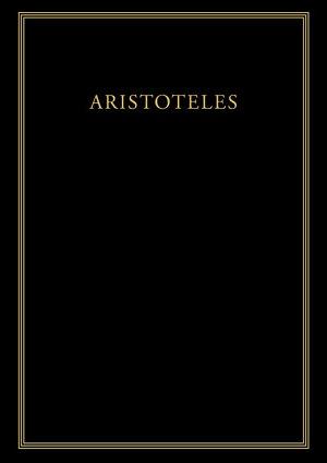 Historia animalium  Buch V PDF