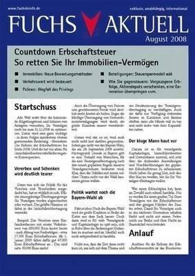 Countdown Erbschaftsteuer PDF
