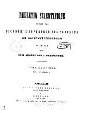 Bulletin scientifique: Volume 9