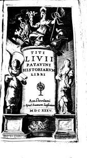 Titi Livii Patavini Historiarvm libri