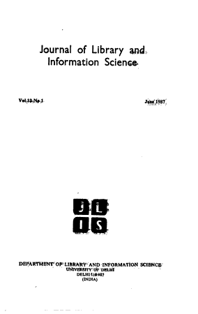 Journal of Library and Information Science PDF