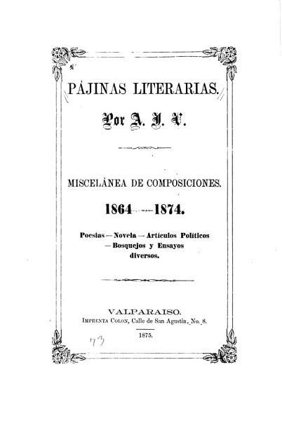 P  jinas literarios