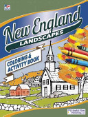 New England Coloring and Activity Book PDF