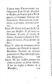 Histoire d'Olivier Cromwel: Volume1