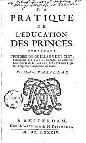 La pratique de l'éducation des princes