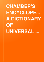CHAMBER S ENCYCLOPEDIA  A DICTIONARY OF UNIVERSAL KNOWLEDGE  VOL  V PDF