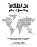 Travel Like a Local   Map of Svendborg  Black and White Edition