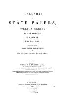 Calendar of State Papers  Preserved in the State Paper Department of Her Majesty s Public Record Office PDF