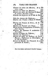 Histoire générale, ecclésiastique et civile de la ville et province de Namur: Volume6