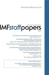 IMF Staff Papers: Volume 54, Issue 1
